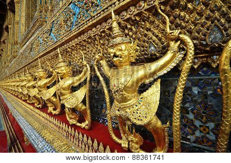 Garuda In Wat Phra Kaew Grand Palace Of Thailand