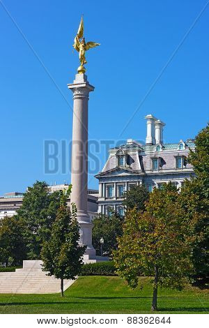 The First Division Monument Washington DC.