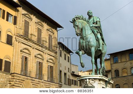 Statue Of Cosimo I De' Medici By Giambologna