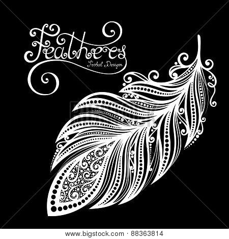 Vector Peerless Decorative Feather