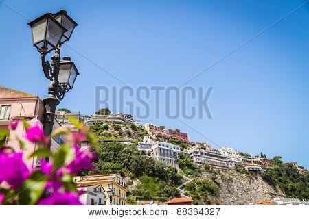 Luxurious Mediterranean landscape