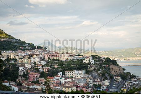 Beautiful Mediterranean town. Landscape photography