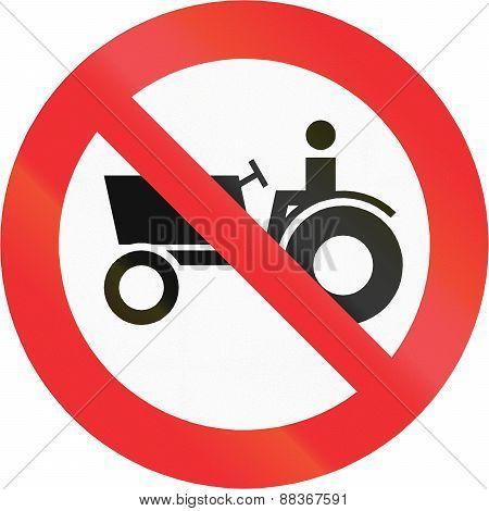 No Tractors In Chile
