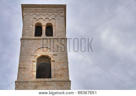 Duomo Church of Molfetta. Puglia. Italy.