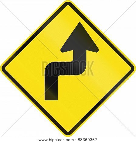 Reverse Curve First To Right In Chile
