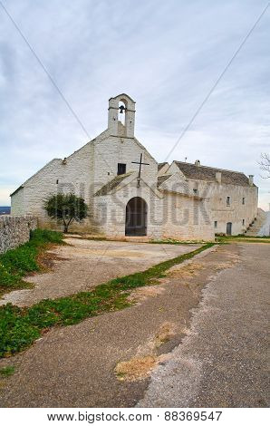 Church of St. Maria di Barsento. Noci. Puglia. Italy.