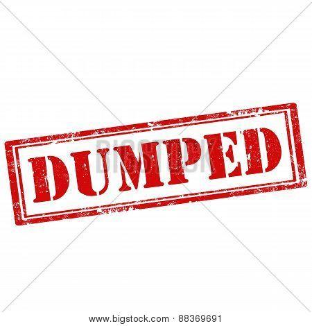 Dumped-stamp