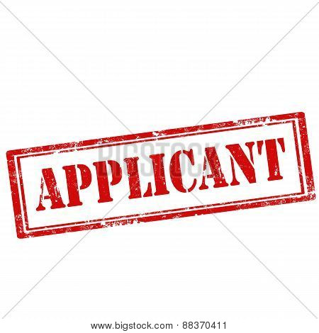 Applicant-stamp