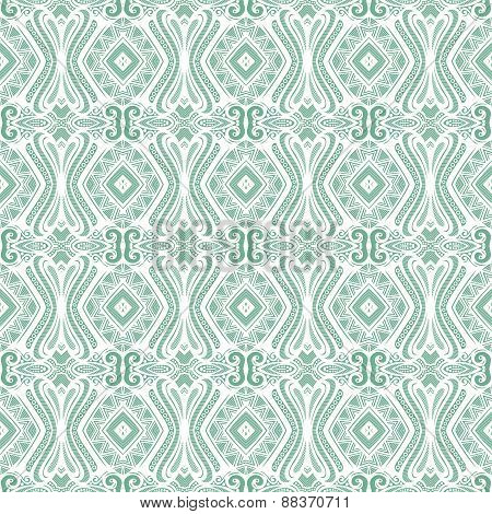 Seamless Vintage Lace Pattern (vector)
