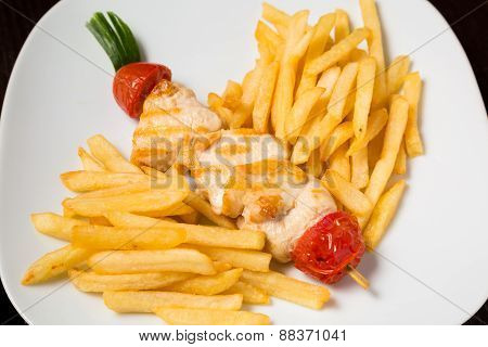 Serving of Fries
