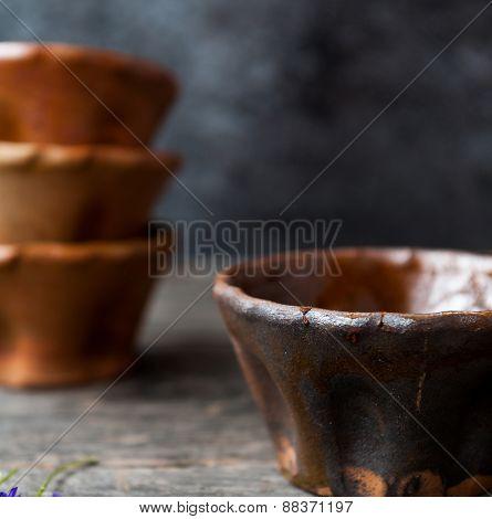 Clay tray
