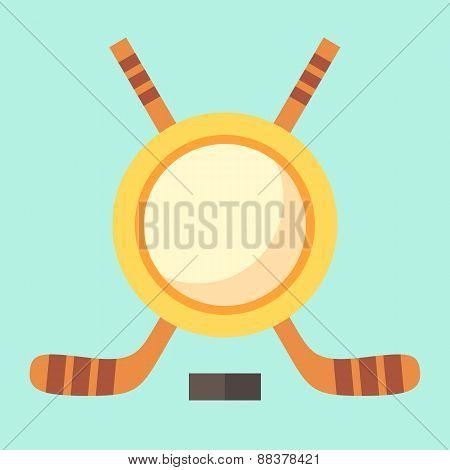 Empty Hockey Emblem