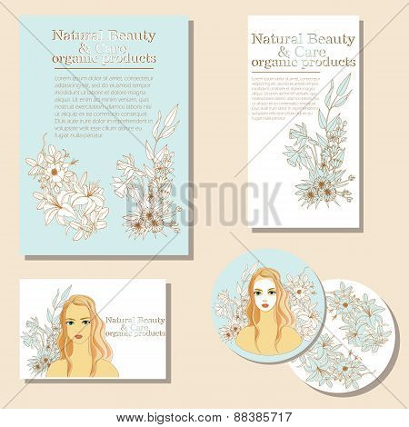 Natural Beauty and  Care. organic products