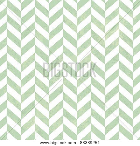 Seamless Vintage ZigZag Pattern. With Grunge Textured Background.