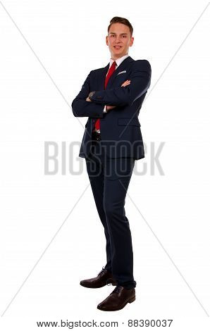 Confident Young Businessman