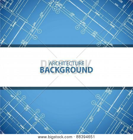 Best blueprint building plan background