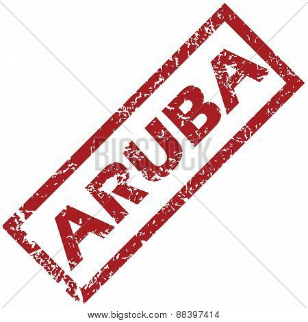 New Aruba rubber stamp