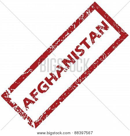 New Afghanistan rubber stamp