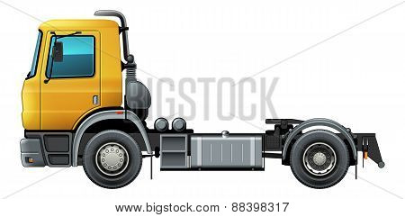 Truck Isolated Vector