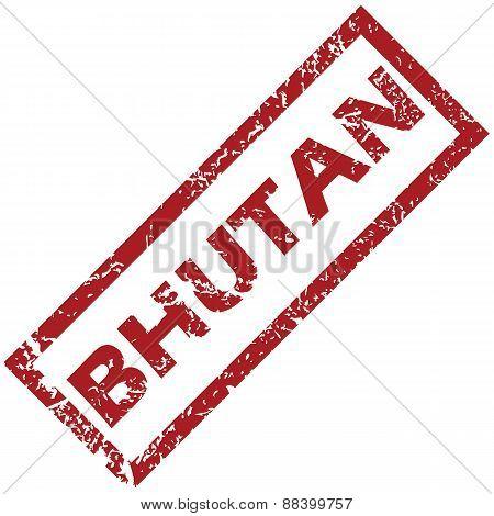 New Bhutan rubber stamp
