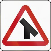pic of intersection  - Bruneian danger warning sign - JPG