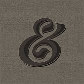 picture of ampersand  - Custom decorative ampersand - JPG