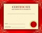 Постер, плакат: Award Certificate