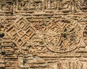 stock photo of constantinople  - background texture of the ruins of ancient Constantinople - JPG