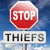pic of theft  - catch thiefs no theft arrest by police investigation or neighborhood watch online internet thief - JPG