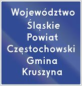 picture of municipal  - Voivodeship Border Sign In Poland - JPG