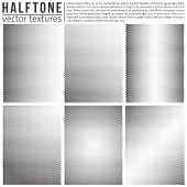 pic of analogy  - Vector halphtone textures set - JPG
