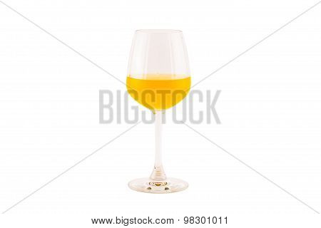 cocktail isolated on white.