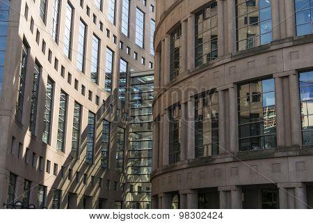 library building in Vancouver, Canada