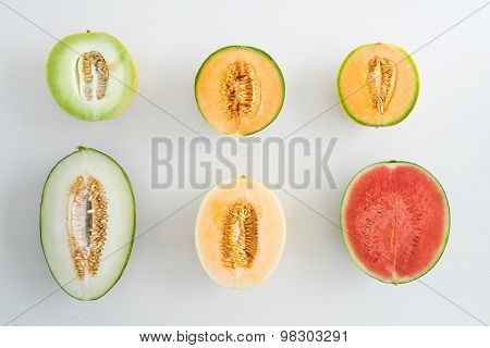Collection Of Melons
