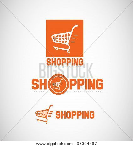Shopping Cart Logo Icon