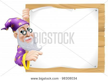 Sign Cartoon Wizard