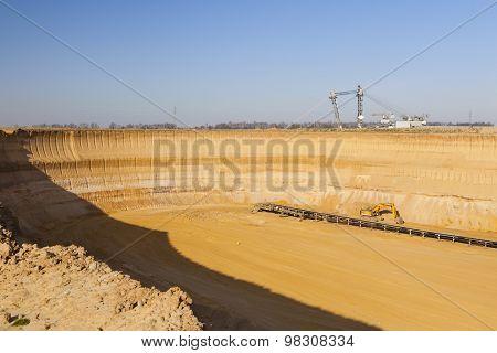 Pit Mine Wall