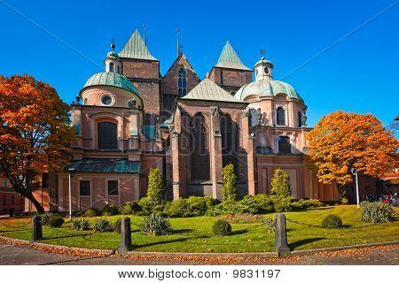 Cathedral Church In Wrocław, Poland