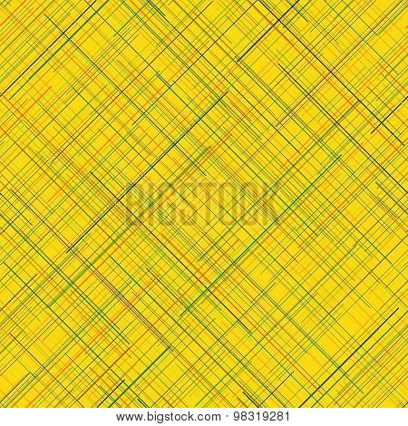 Abstract background. Diagonal random lines. Bright colors. Seamless plaid backdrop.