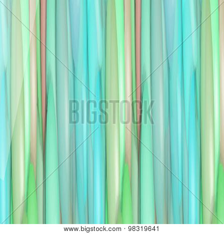 Beautiful Stripy Background In Green