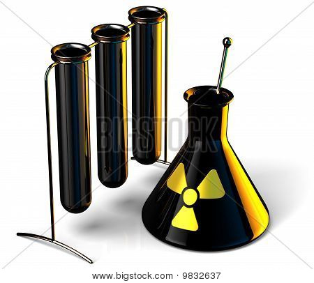 Radioactive chemical (Hi-Res)