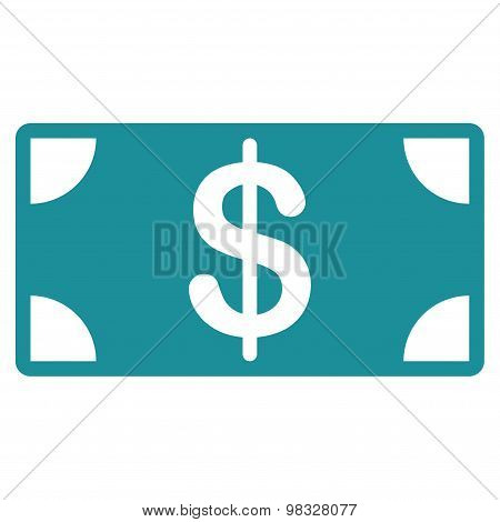 Banknote icon from Business Bicolor Set