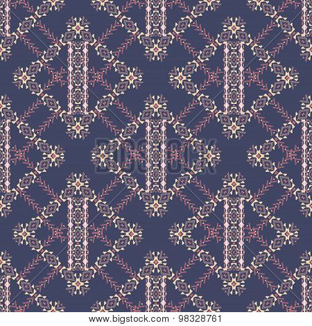 Abstract Pattern In Ethnic Style