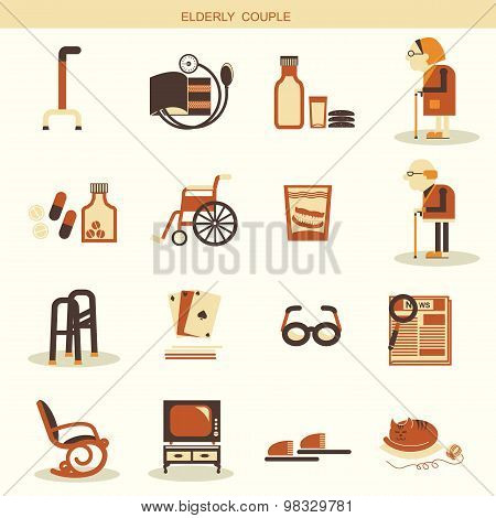 Special Objects And Equipments For Pensioners Life