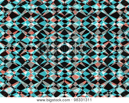 Retro Kaleidoscope Pattern