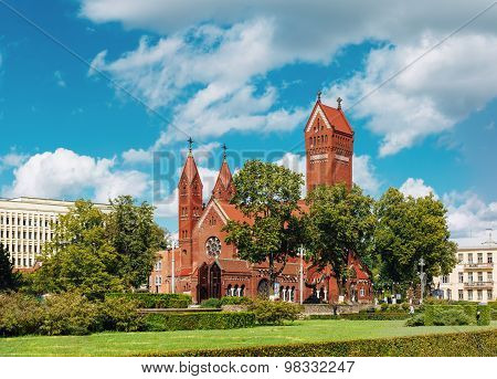 Belarussian Roman Catholic Church Of Saints Simon And Helen, Minsk, Belarus