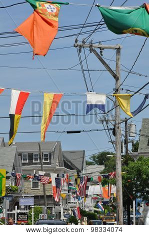 Commercial Street in Provincetown, Cape Cod