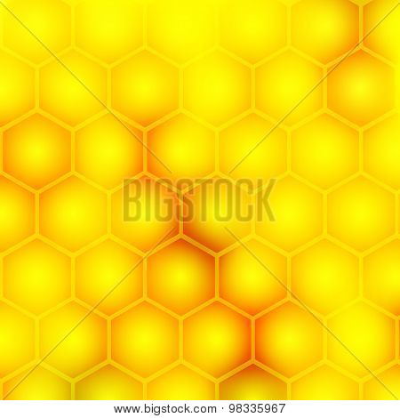 Honey Styled Background