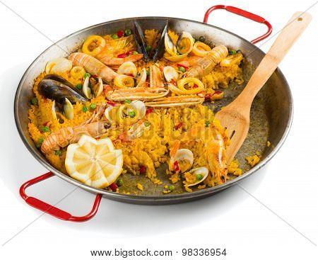 Paella, Half Eaten