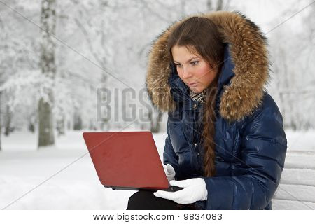 Girl With The Laptop